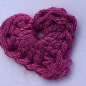 Cheeky Little Crochet Heart...