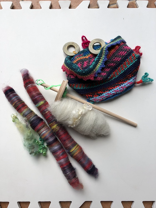 I Wanna Be A Hat! DROP SPINDLE SPINNING KIT