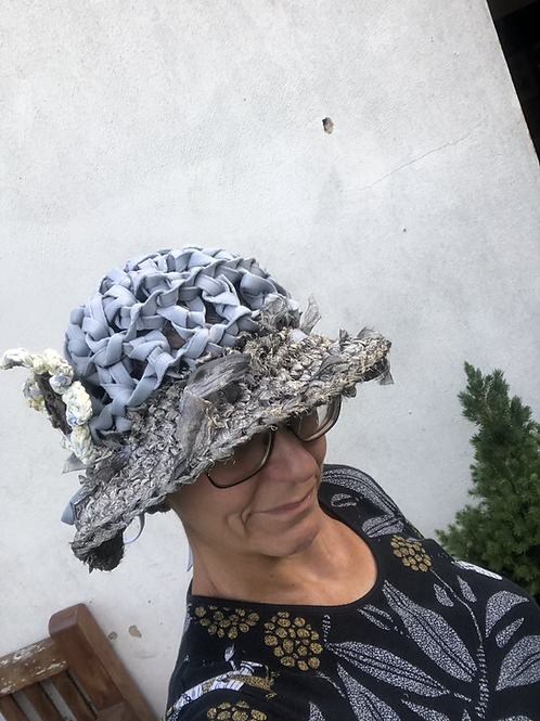Steam Up FLOPPY BOATER HAT