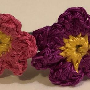 Crochet Flower Brooch Pattern