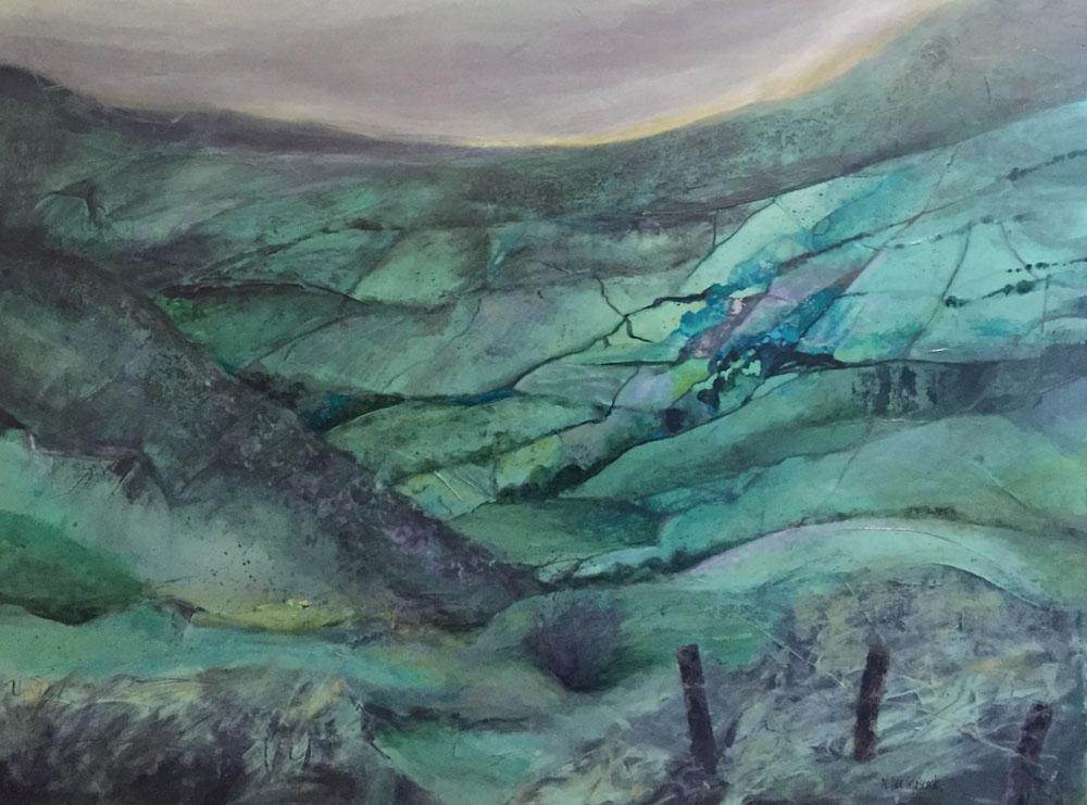 Heathcliff's Vale, moody green valle
