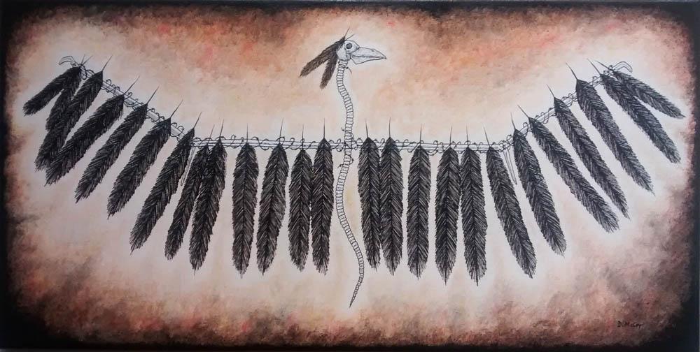 phoenix Rising, southwestern art