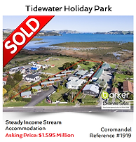 Holiday Park business sold by Alan Dufty, Business Broker Auckland