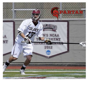 Coach Leo as a Senior Captain with the Colgate Raiders in Div. I NCAA
