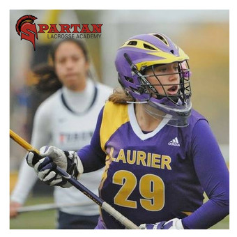 Coach Hanna playing for the Wilfrid Laurier University Golden Hawks in 2012