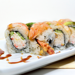 Double Shrimp Roll