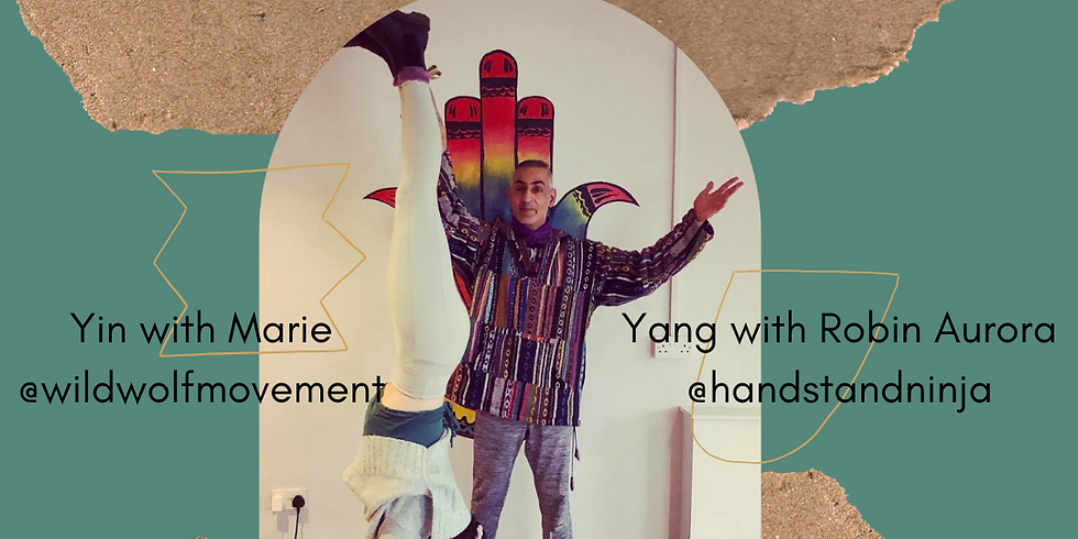 The Yin & Yang of Handstand Workshop - July 2021