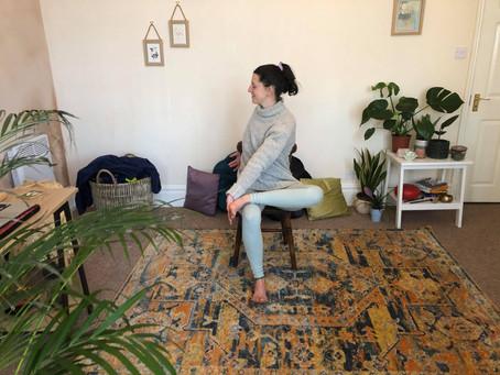 Chair Yoga for Lymes & Chronic Fatigue