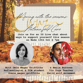 IG Live Chat Tonight: Autumn Self Care