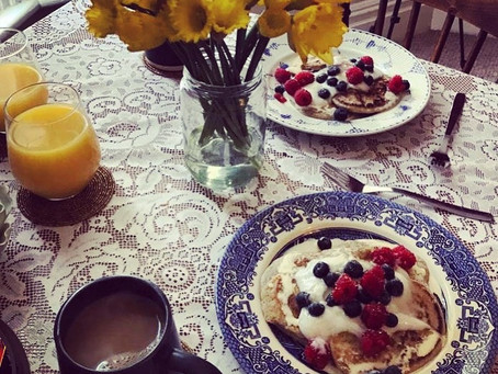 Perfect Pancakes - Vegan Banana