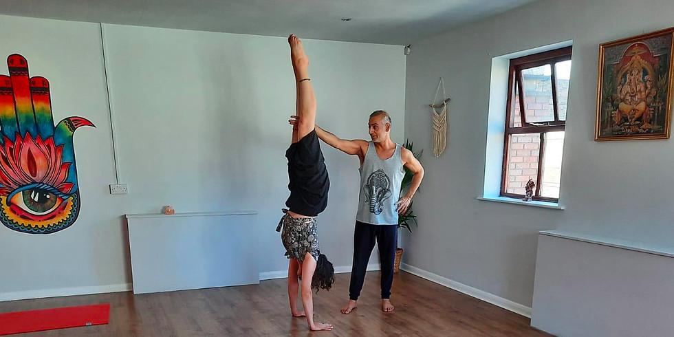 The Yin & Yang of Handstand Workshop - December