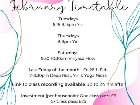 This Week's Offerings: Mon 8th Feb