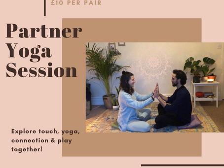 Partner Yoga - Sat 13th Feb