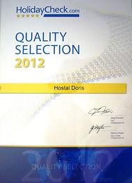 holiday check quality selection award