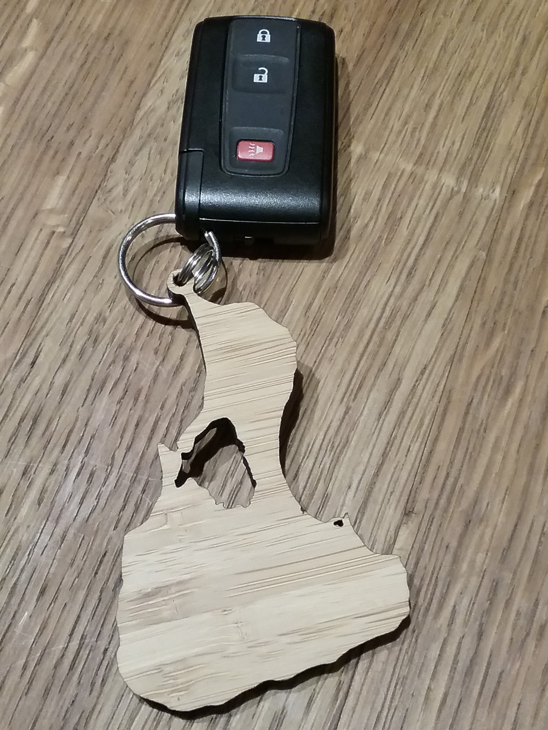 BI Bamboo Key Chain