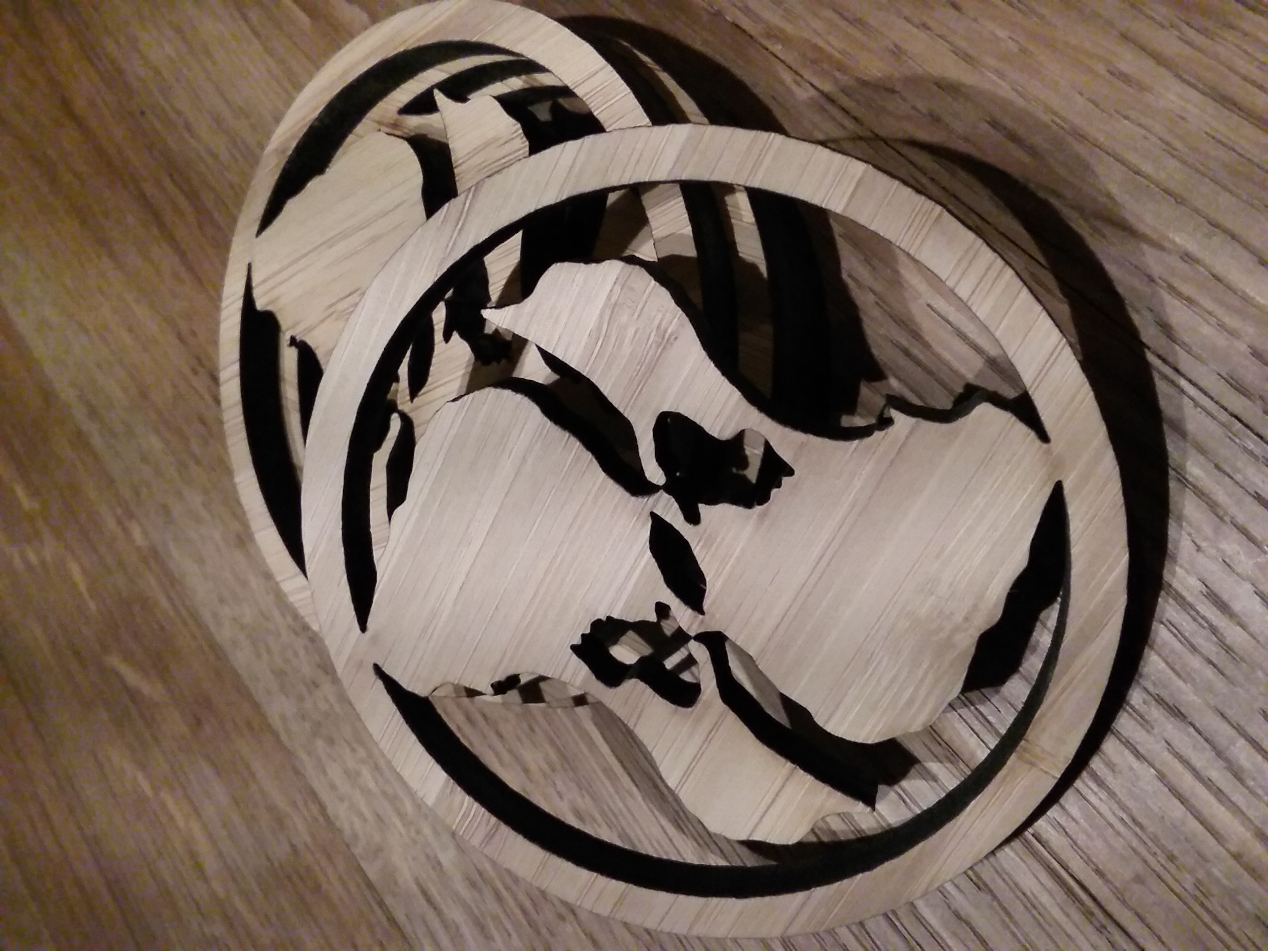 BI Bamboo Coaster
