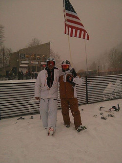 University Us ski team