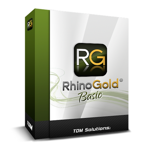 RhinoGold 6.0 Basic 套裝(不含Rhino 5.0)(數位下載版)