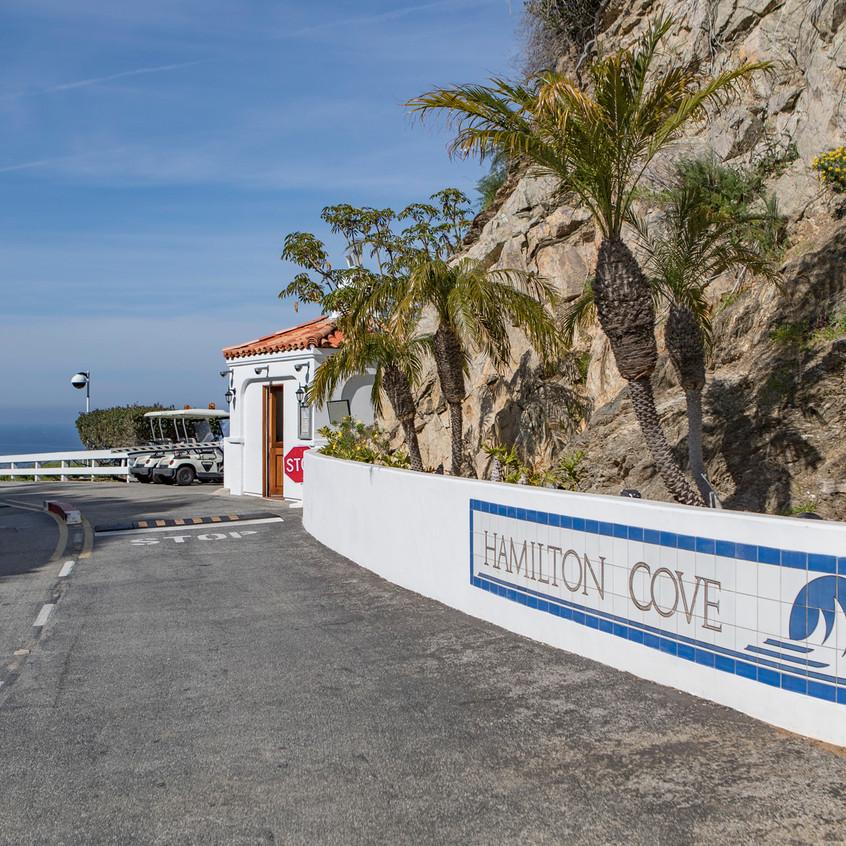 Hamilton Cove Entrance