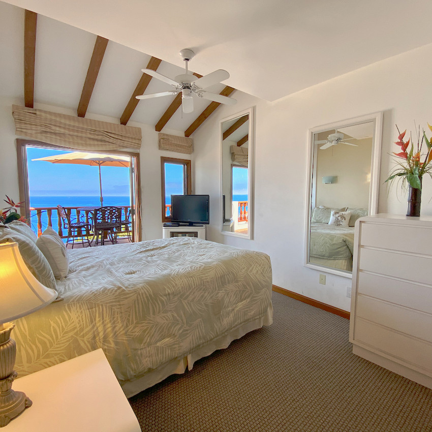 Wake up to an ocean view