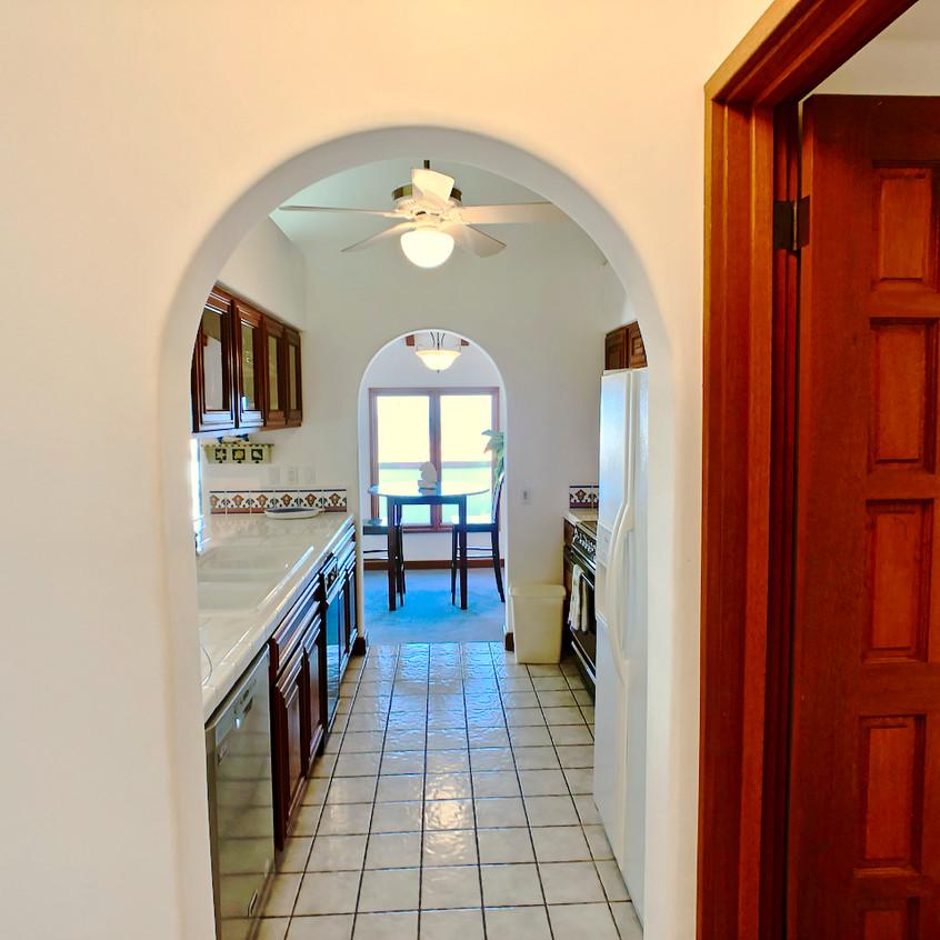 Kitchen arch