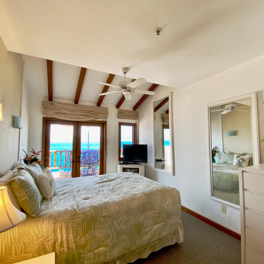 Bedroom, french doors
