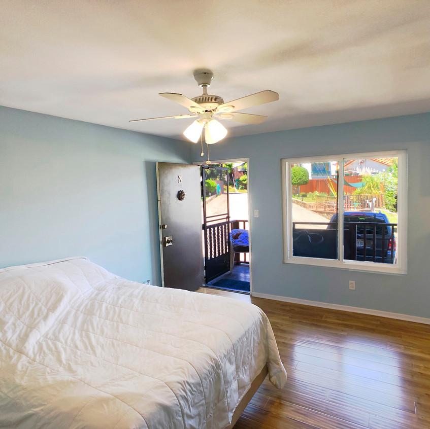 Bedroom toward front door