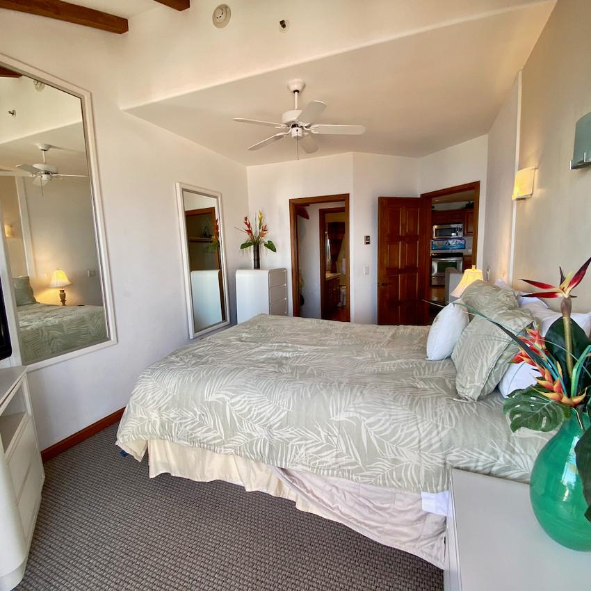 Bedroom, walk-through closet
