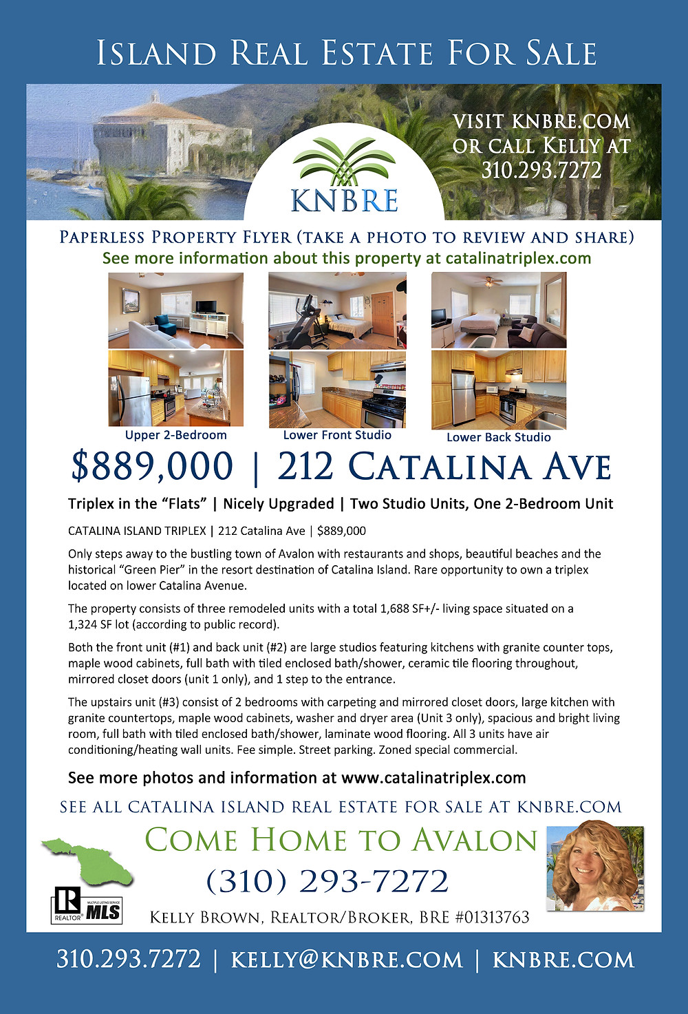 Paperless Property Flyer - 212 Catalina Ave
