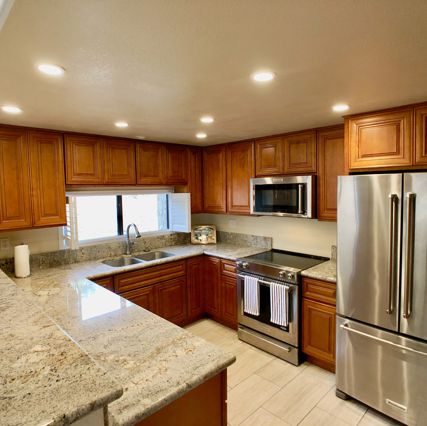 Kitchen remodeled in 2017