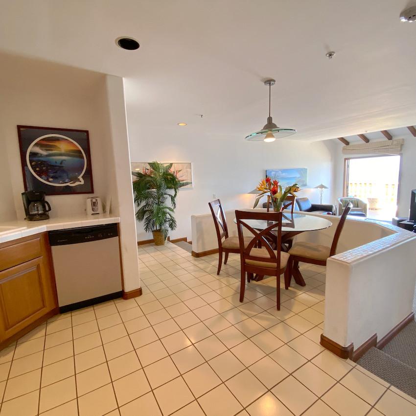Kitchen, dining room