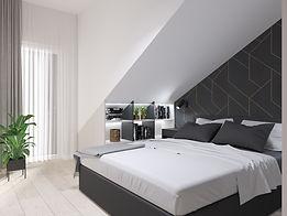 Widok na jedną z sypialni