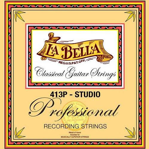 La Bella Professional Series Studio recording