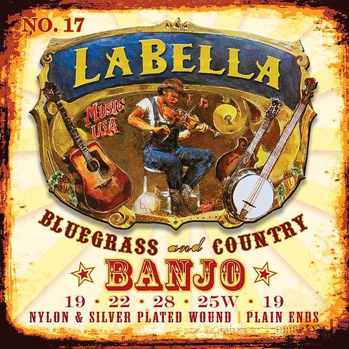 La Bella Classical Nylon 5 String Banjo Set