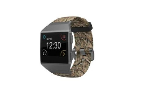 Groove Life Fit Bit Watch Band Ionic Mossy Oak Blades