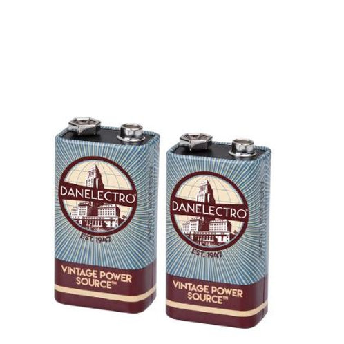 DanElectro 9 Volt Batteries