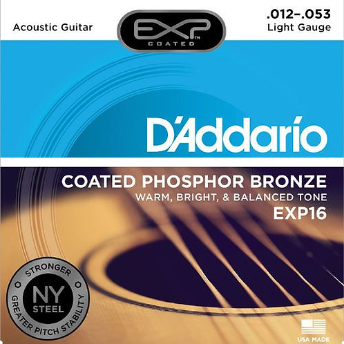 D'Addrio Exp Acoustic Coated Phosphor Bronze