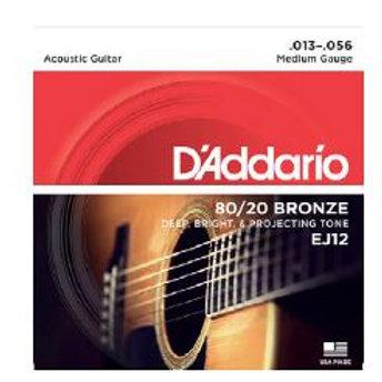 D'Addrio 80/20 Bronze Acoustic