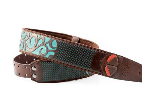 Right On Straps Go Mojo Nashville Teal