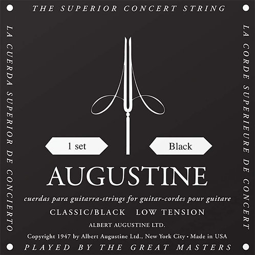 Augustine Strings Black Label