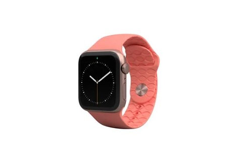 Groove Life Apple Watch Band Solid Coral