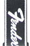 Fender Black Weave, Silver Logo