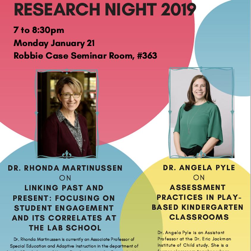 Research Night 2019