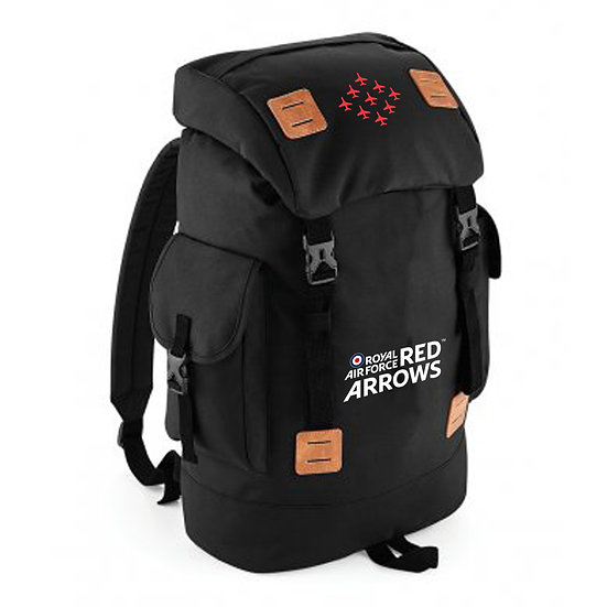 RAF Red Arrows Explorer Rucksack - Black