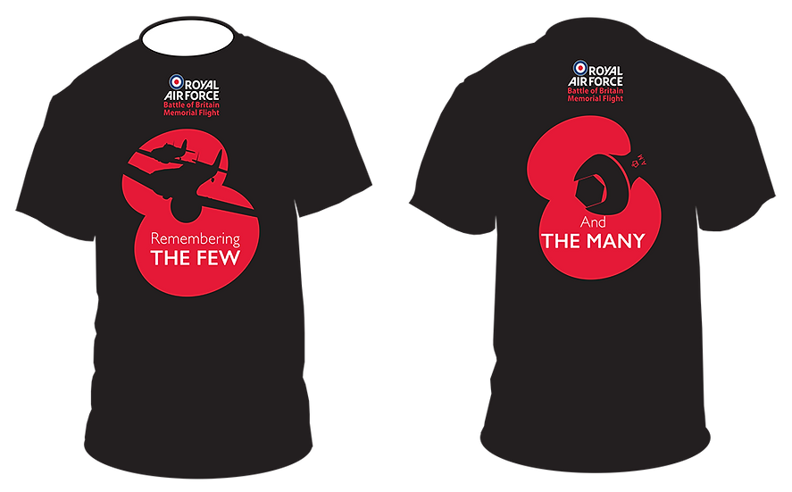 Remembering 'The Few and The Many' T-Shirt Ladies (Slim Fit)