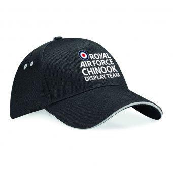 RAF Chinook Display Team Baseball Cap - Logo Black