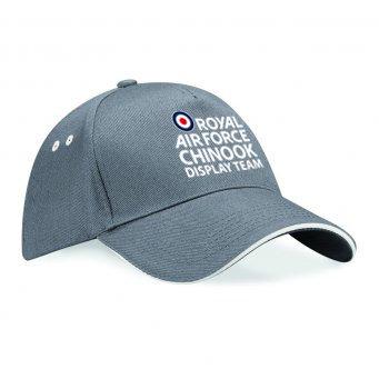 RAF Chinook Display Team Baseball Cap - Logo Grey