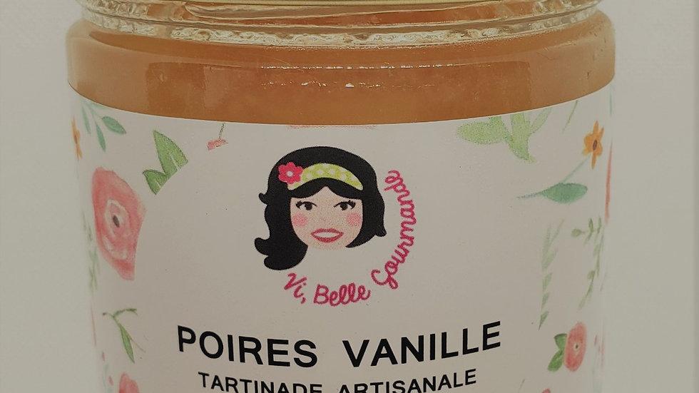 Tartinade Poires Vanille