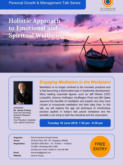 Personal Talk Engaging Meditation in the