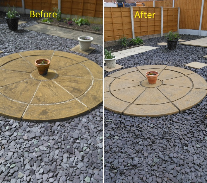 Patio cleaning before and after (Sue, Hyde)